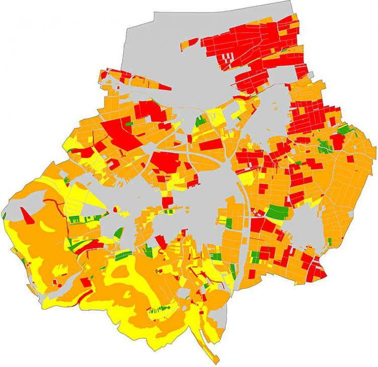 Gesamtbewertung natürlicher Bodenfunktionen