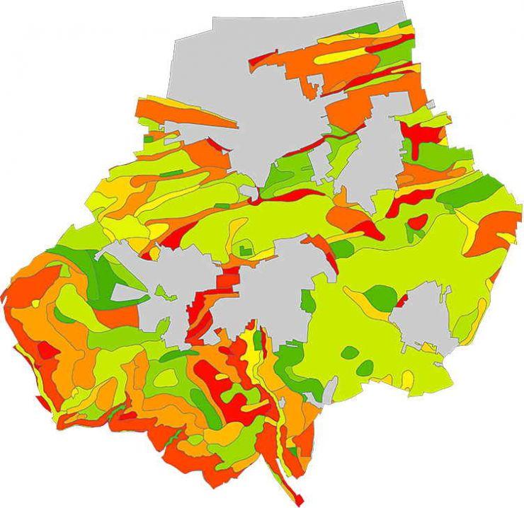 Bodenkarte Filderstadt