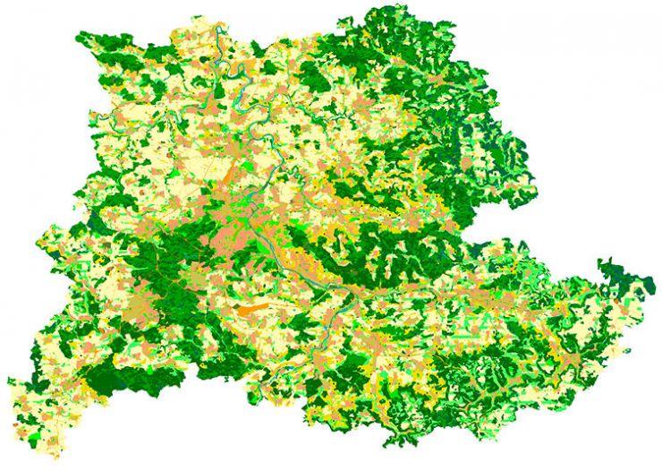 Karte Bedeutung Artenschutz