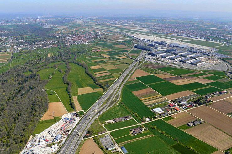 Schnellbahntrasse Stuttgart-Ulm