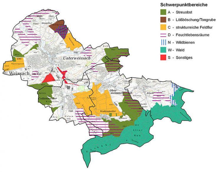 Karte Biodiversität
