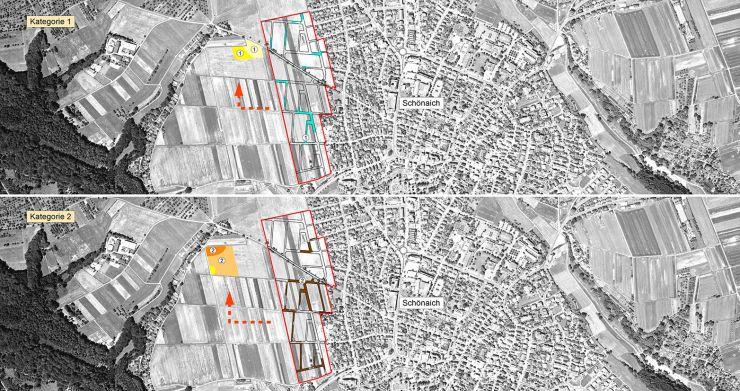 Karte Bodenmanagement Schönaich